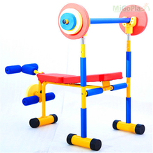 kid fitness equipment-Weight Bench Set